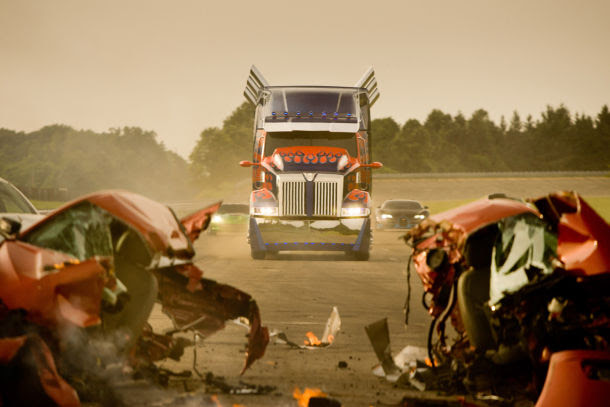 The new Optimus Prime of Transformers: Age of Extinction.