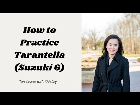 How To Practice Tarantella By Squire