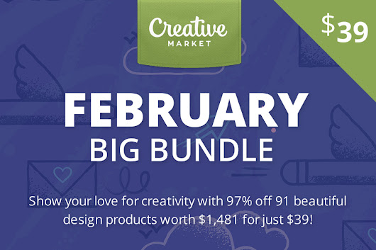 Creative Market - February Big Bundle - Graphic Ghost