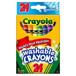 Crayola Washable 24 Ct Non/Toxc
