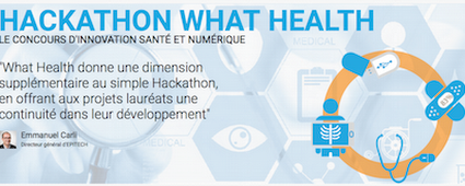 Hackathon What Health à l'AP-HP le 12 et 14 juin. » MédecinGeek