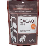 Navitas Naturals Cacao Raw Chocolate Nibs - 8 oz bag