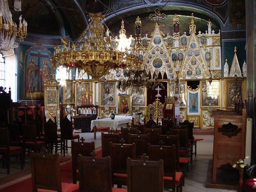 biserica Sf Vasile interior