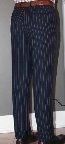 Trouser rear