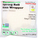 Star Anise Foods Vietnamese Spring Roll Rice Wrapper - Case Of 12 - 8 Oz