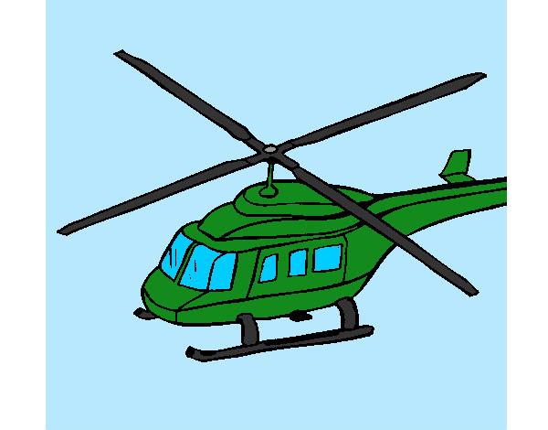 Dibujo De Helicoptero De Guerra Pintado Por Jorgito10 En Dibujosnet