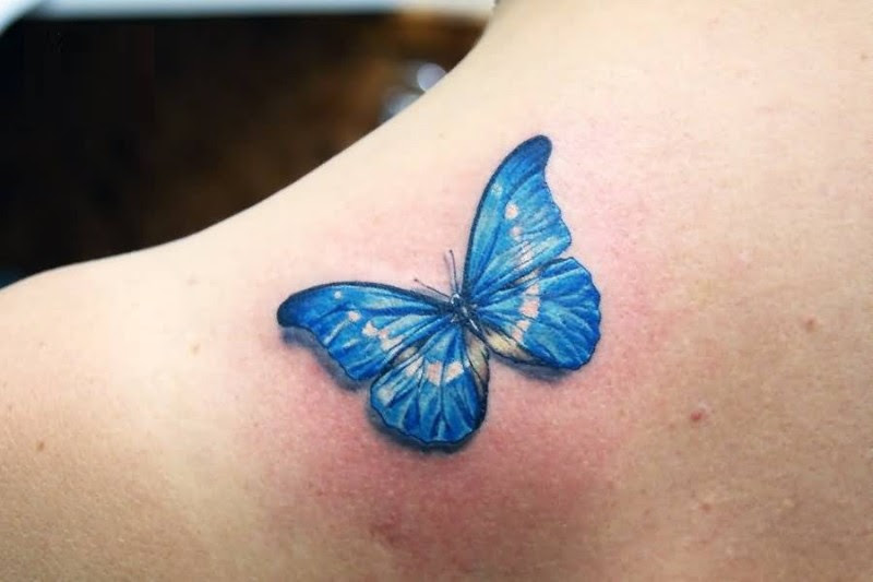 Butterfly Back Tattoos Images Pictures Tattoos Hunter