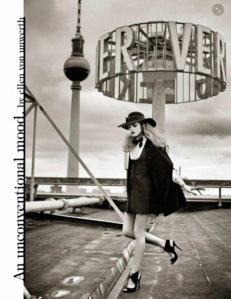 Line Brems 'An Unconventional Mood' Ellen Von Unwerth For Vogue Italia