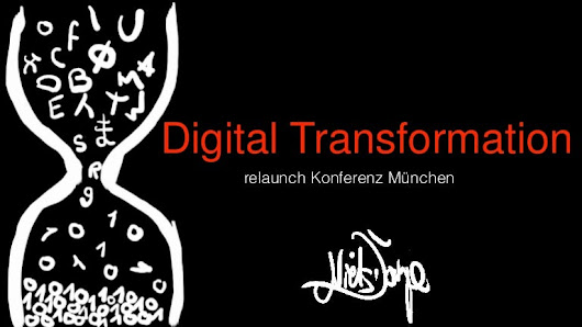 Niels Doerje Digital Transformation relaunch Konferenz 2015