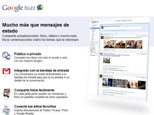 Google Buzz dice adiós Google finalmente ha decidido dar por terminado el proyecto de Google Buzz con un claro argumento: queremos crear productos que realmente cambien  la vida de la gente y que se utilicen varias veces cada día. Filosofía  Google 100%. Más información