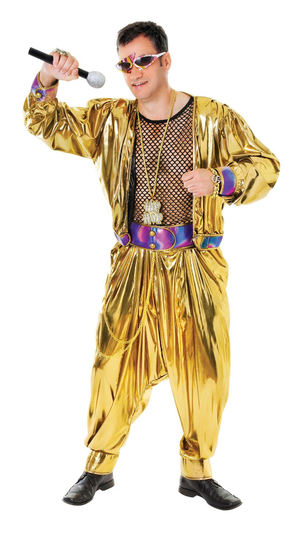 mens 80s video music rapper pop star vanilla ice mc hammer