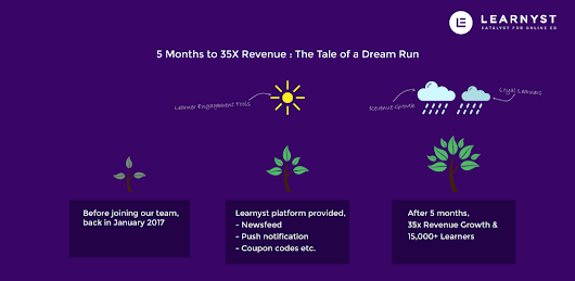 [ Case Study ] 5 Months to 35X Revenue & The Tale of a Dream Run