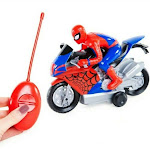 Marvel Spider-Man RC Spiderman Motorbike
