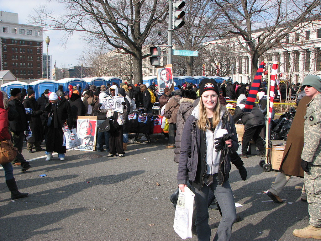 TH Daughter and Obamamania vendors