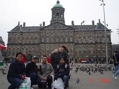 Koninklijk Paleis kat Dam Square, Amsterdam, Netherlands