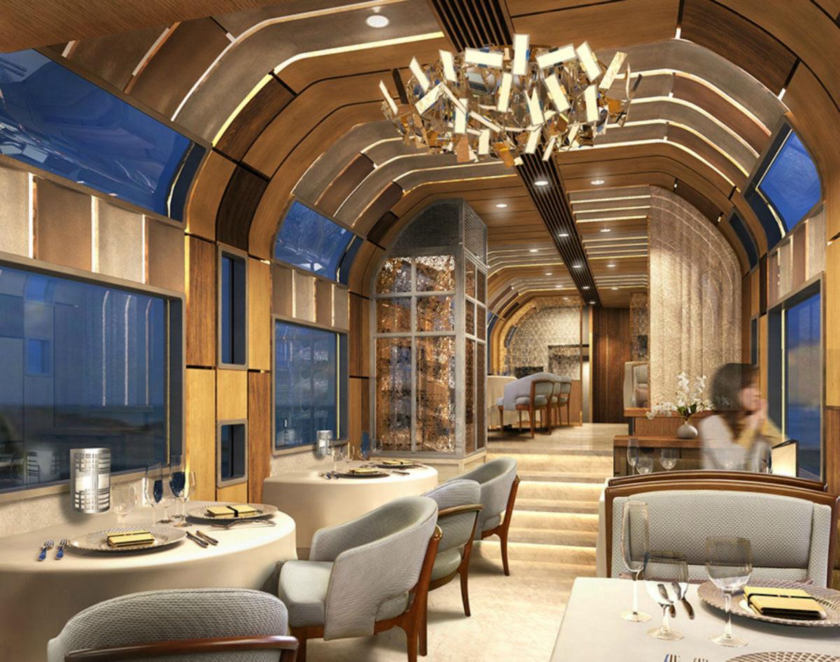 O interior do Shiki-shima: o trem mais luxuoso do mundo que atravessa o Japão 04