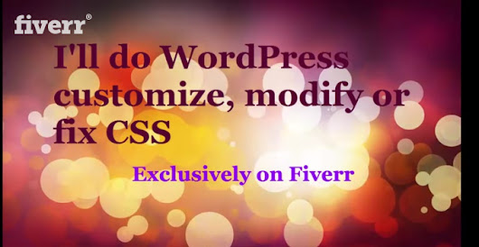 I will customize wordpress, modify or FIX WordPress error fast for $5