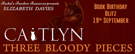 #BookBirthdayBlitz Q&A ~ Three Bloody Pieces by Elizabeth Davies @bethsbooks @rararesources #Giveaway | Ali - The Dragon Slayer