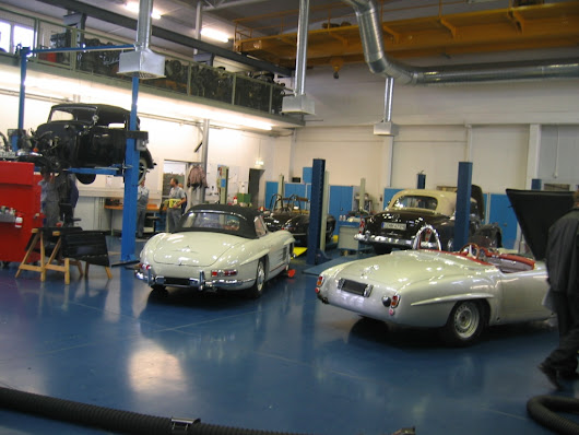 Mercedes Benz Classic Center, Stuttgart Germany
