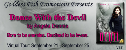 Dance With the Devil by  Angela Dennis ~ Presented by Christine