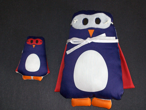 Penguin Plushie pair