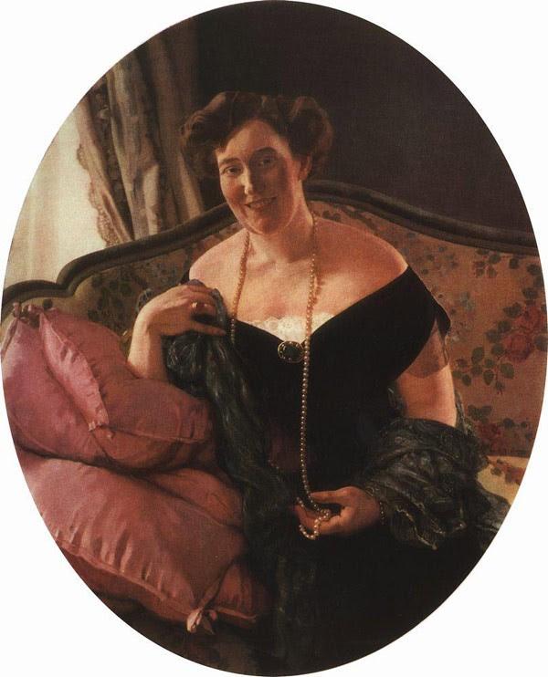 Портрет М.Д.Карповой. 1913