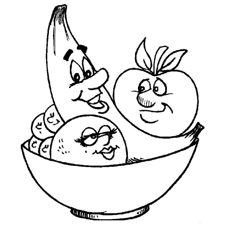 57 Dibujos De Verduras Para Colorear Oh Kids Page 1
