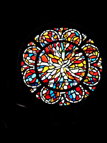 47  191/365  Rose Window at Holy Trinity Lansdale