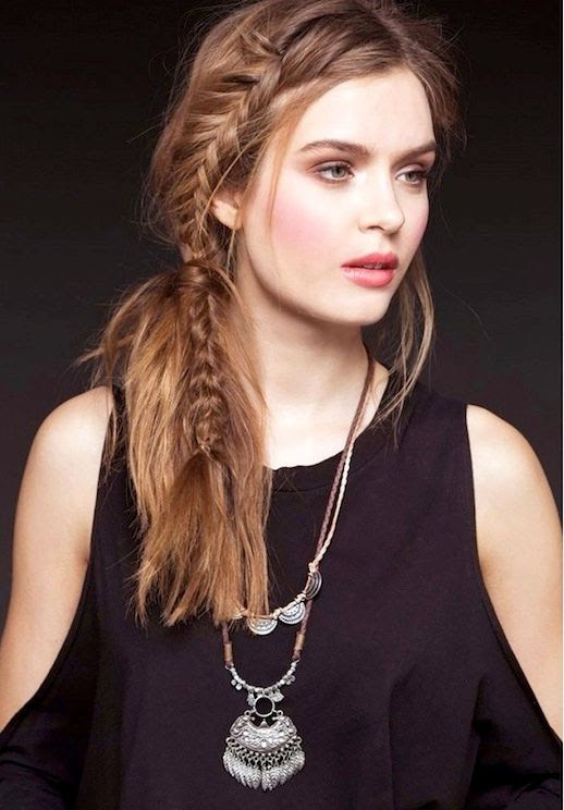 20 Le Fashion Blog 21 Braid Ideas For Long Hair Side Fishtail Crown Braided Hairstyle Via Urban Outfitters
