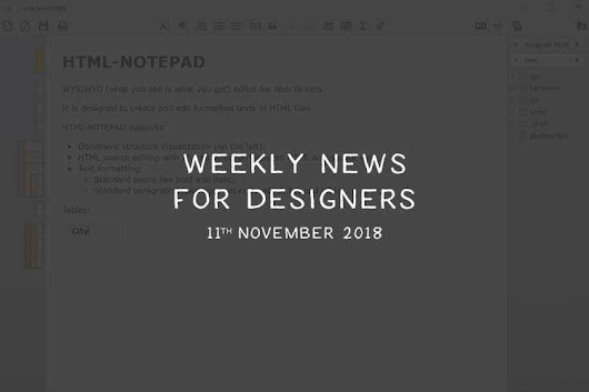 Weekly News for Designers № 462 - The JavaScript Handbook, Butter Cake Flexbox Framework, Why Do All Websites Look the Same?
