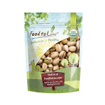 Organic Pistachios Roasted and Salted, 1 Pound - by Food to Live