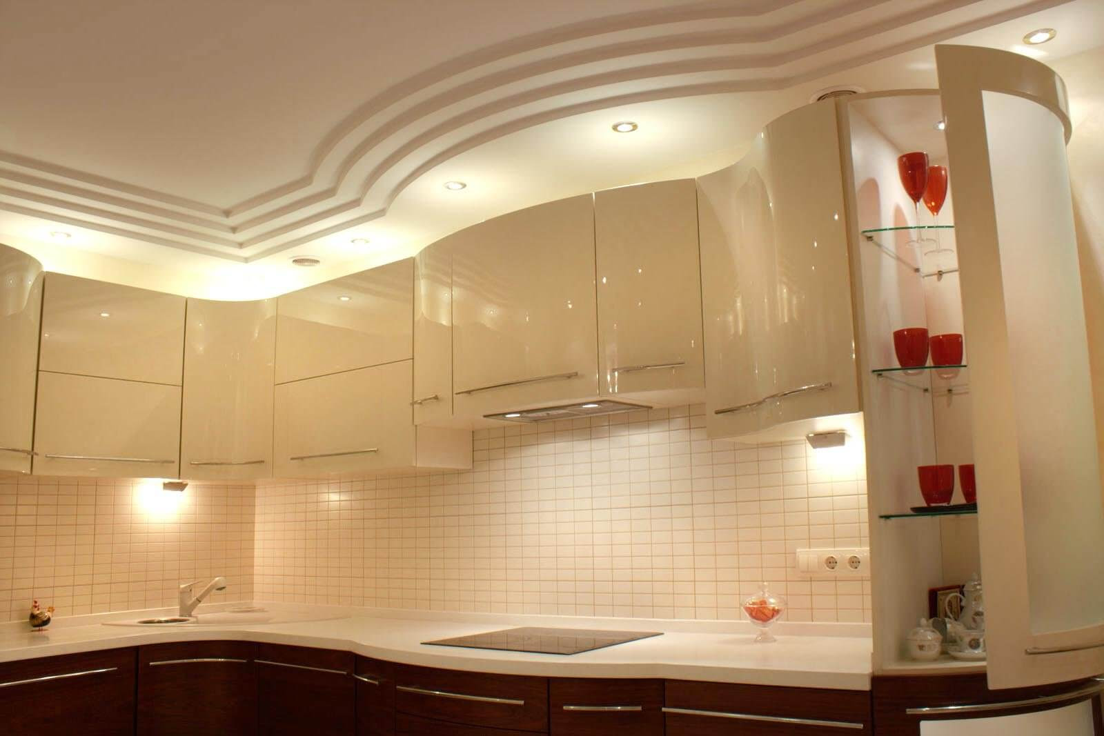 Plasterboard Ceiling Finishing Design Ideas for Apartment