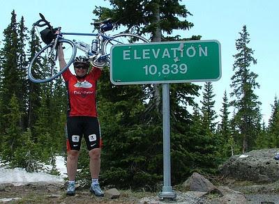 Me atop the Grand Mesa