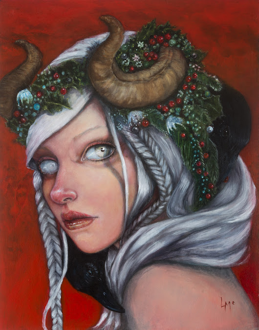 Hel, Mother of Krampus By Laurie McClave |