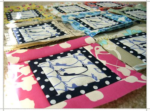 quilt in progress
