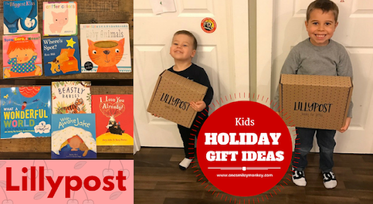 Lillypost Book Subscription Service {Holiday Gift Idea}