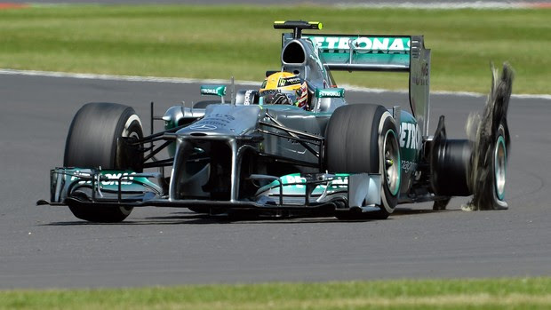 hamilton Silverstone inglaterra formula 1 (Foto: Getty Images)