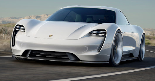 Porsche unveils 600-hp electric sports car concept