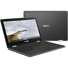 ASUS Flip C214MA YS02T 11.6″ Convertible Chromebook - Celeron N4000 1.1 GHz - 4 GB RAM - 32 GB SSD - Dark Gray