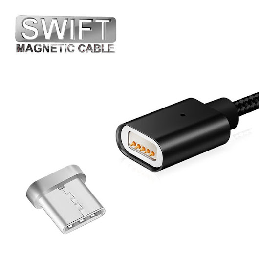 SWIFT Magnetic USB Type C Charging Cable – SUKAR