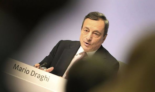 Eurozone WARNING: Bank chief ADMITS EU's economic momentum WEAKENING – Draghi speaks out