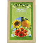 High Mowing Organic Seeds, Summer of Sunflowers, Organic Seed Collection, Variety Pack, 3 Packets