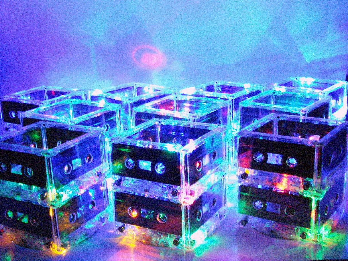 10 MixTape Lighted Centerpiece Lamps