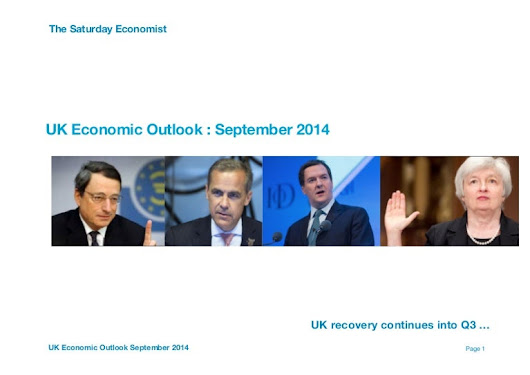 Uk economic outlook september 2014 se