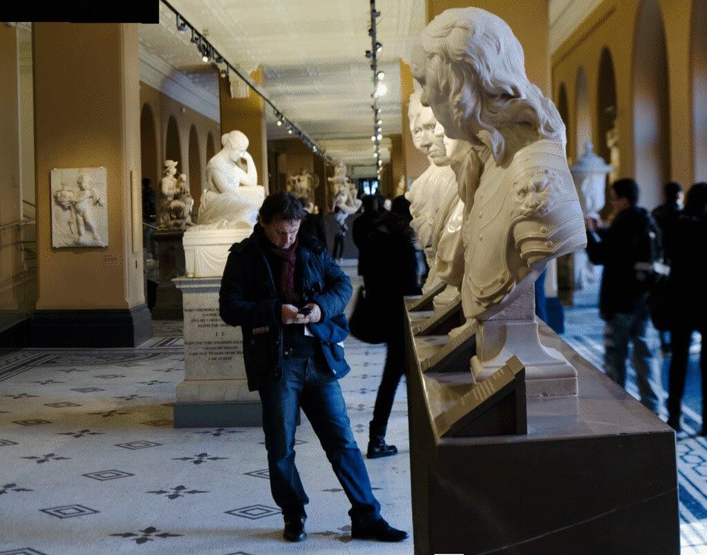 Victoria and Albert Museum: British Sculpture Gallery