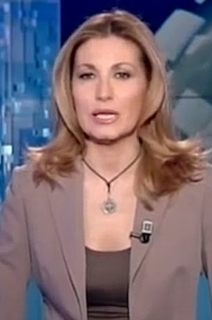 Image result for Διωγμός από την ΝΤΠ: Σφοδρή επίθεση σε παρουσιάστρια ειδήσεων επειδή φορούσε σταυρό