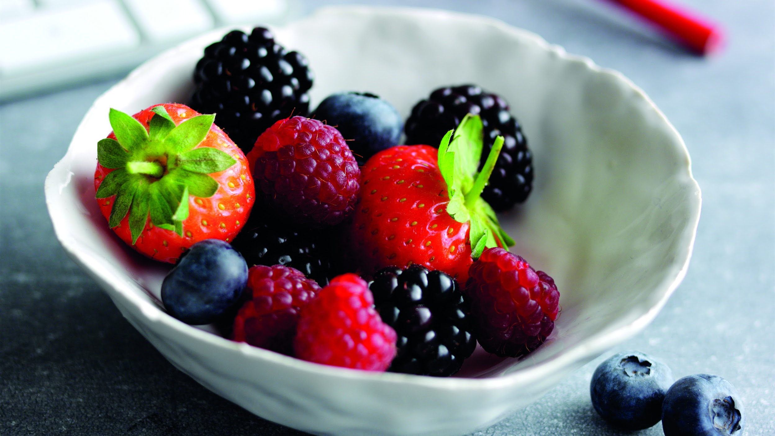 Bowl of mixed berries (British Summer Fruits/PA)