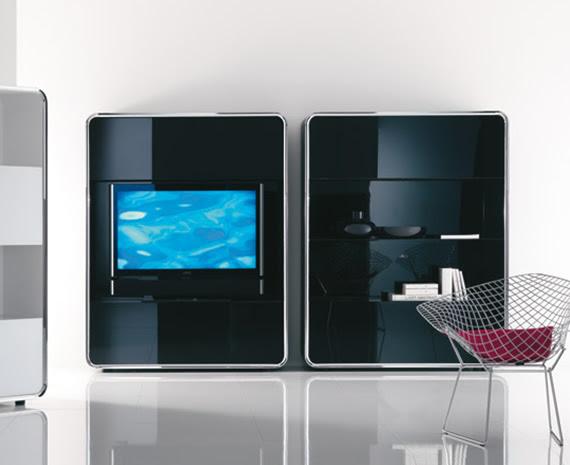 The hi-tech living room design. Interior Design Hi-Tech Style ...