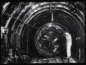 Shield chamber under construction
