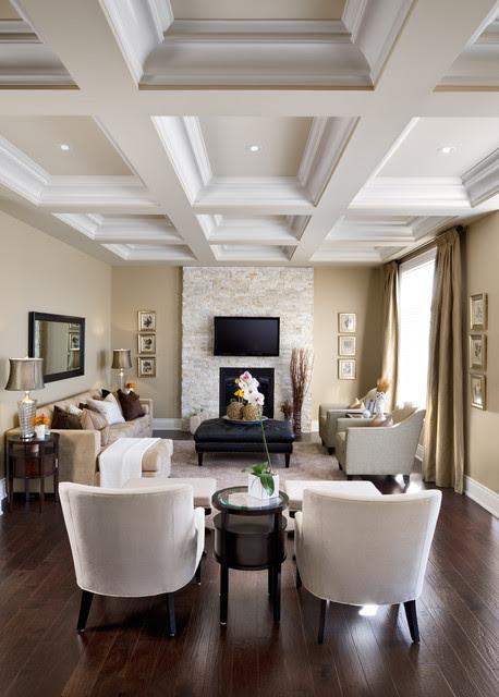 Jane Lockhart Interior Design - traditional - living room ...
